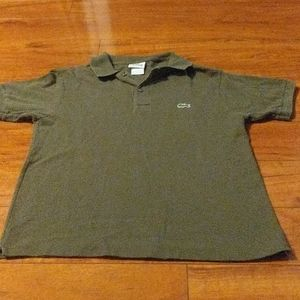 Men's Lacoste Olive Green Polo Shirt